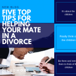 Five top tips for helping your mate in a divorce