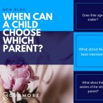 When can a child choose which parent they want to live with in Australia?