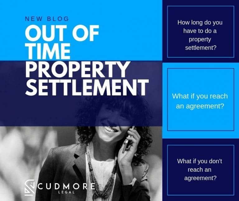 Out of Time Property Settlement