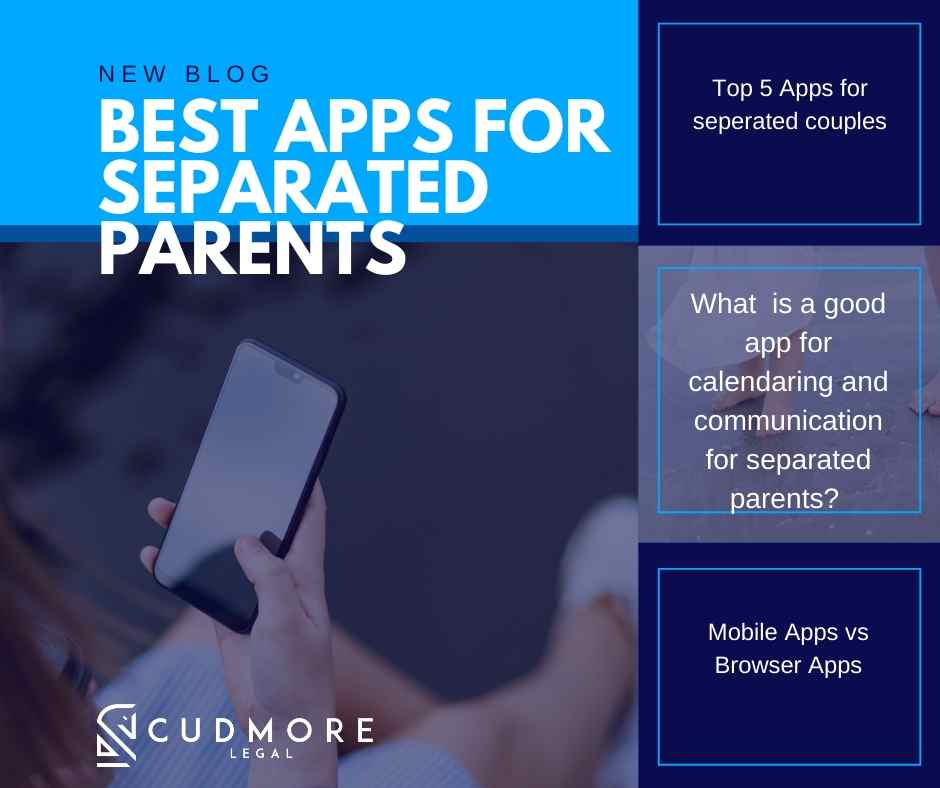 What are the best apps for separated parents?