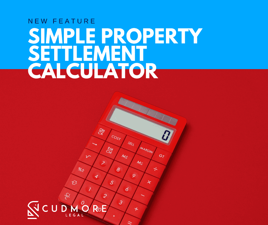 How to calculate a Property Settlement