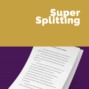 Superannuation Splitting And Divorce