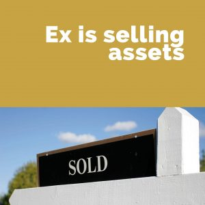 ex is selling assets min